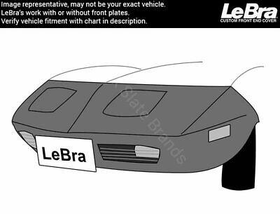 55665-01 Black LeBra Front End Cover Chevrolet Corvette Vinyl