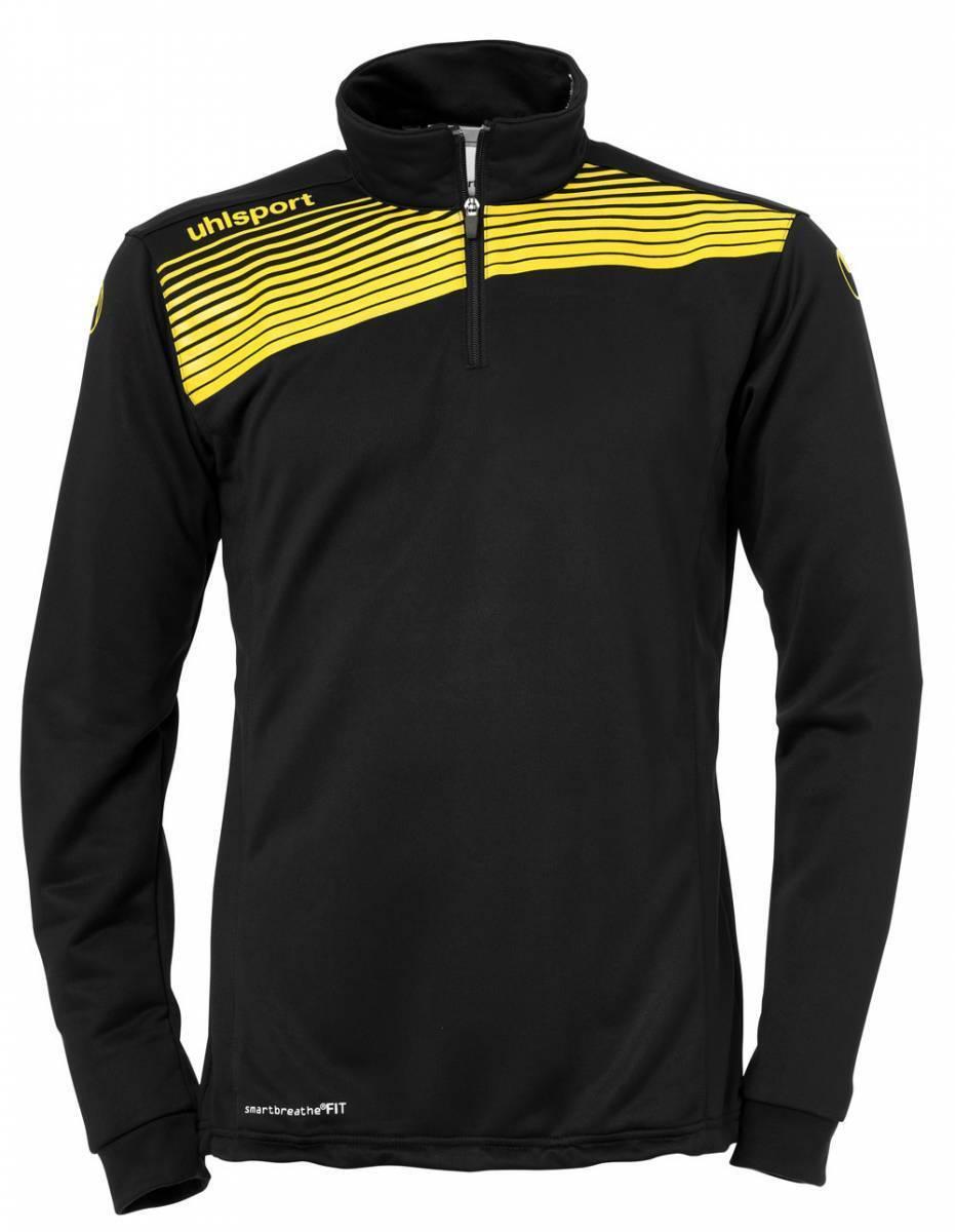 Uhlsport LIGA 2.0 1 4 Zip Top Trainingspullover schwarz-gelb NEU 71858    Einfach zu spielen, freies Leben