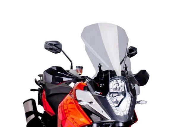 PUIG TOURING SCREEN FOR KTM 1090 ADVENTURE 17-20 LIGHT SMOKE
