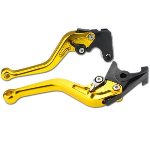 For Suzuki GSXR600//750 11-2017 GSXR1000 2009-2018 CNC Shorty Brake Clutch Levers