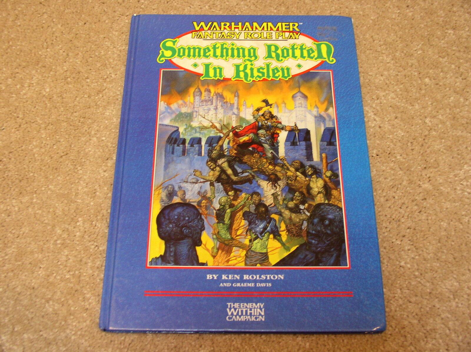 Games Workshop Warhammer Fantasy Roleplay Something redten in Kislev hardcover