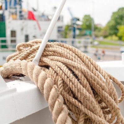 60mm Seil Tauwerk Sport Deko Leine Hanfseil Bootsteile Rope JUTESEIL 6mm