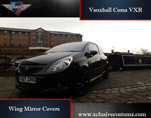Image is loading Vauxhall-Corsa-VXR-Wing-Mirror-Covers-for-Corsa- & Vauxhall Corsa VXR Wing Mirror Covers for Corsa D Tuning | eBay