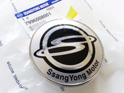 OEM Ssangyong Logo Hood Bonnet  Emblem Badge Ssangyong Rexton #7996008001