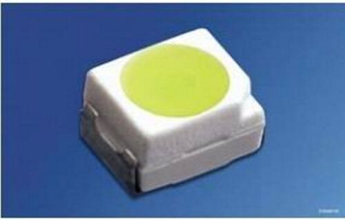 neue Gurtware 450mcd RoHS unbenutze 50 weiße SMD-TOP-LEDs PLCC2 PLCC 2