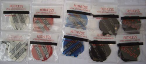 10 Packets Ruthless Extra Strong Darts Flights Pack #1