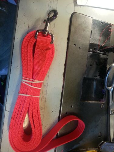 3//4 Dog Leash With 2 Ply Webbing USA Heavy Duty
