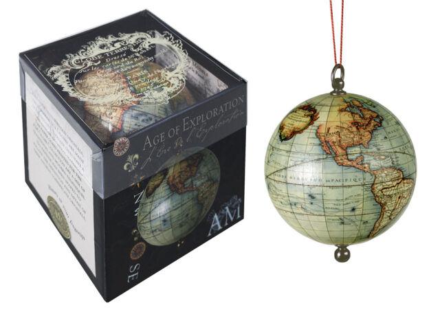 Robert De Vaugondy 1745 Terrestrial World Globe In Box