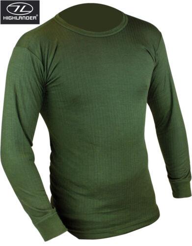 Da Uomo Biancheria intima termica manica lunga Top Shirt Vest strato di base bianco nero blu