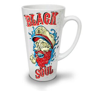 Dead Pirate Soul Skull NEW White Tea Coffee Latte Mug 12 17 oz | Wellcoda