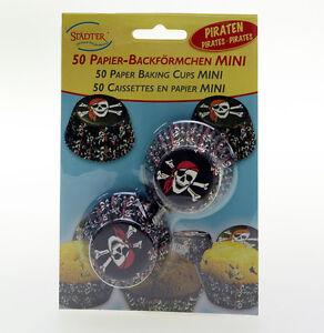 Papierbackfoermchen-Pirat-mini-50-Stueck-von-Staedter