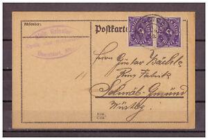 Empire-Allemand-Infla-Minr-230-Mef-Oberstdorf-apres-Souabe-Gmund-18-04-1923