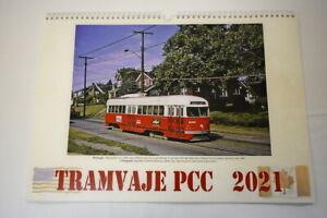 Calendar 2021 PCC streetcar trolley | eBay