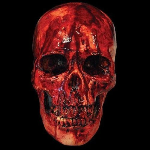 BLOODY SKULL Haunted House Party Decoration Halloween Prop