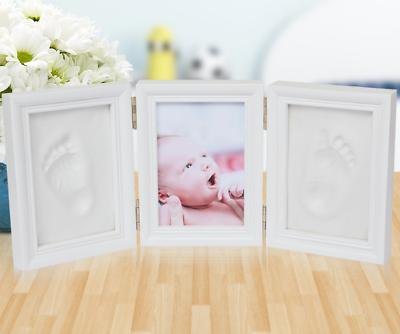 Diskret Baby 3d Gipsabdruck Handabdruck Fußabdruck Abform Set Bilderrahmen Memory Hot