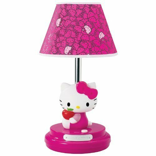 Hello kitty pink kids girls bedroom desk dresser nightstand table hello kitty pink kids girls bedroom desk dresser nightstand table lamp ebay aloadofball Image collections