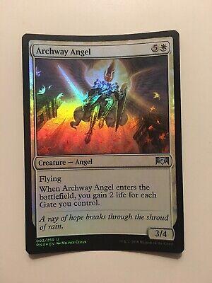 English Ravnica Allegiance MTG Magic 4x Archway Angel NM-Mint
