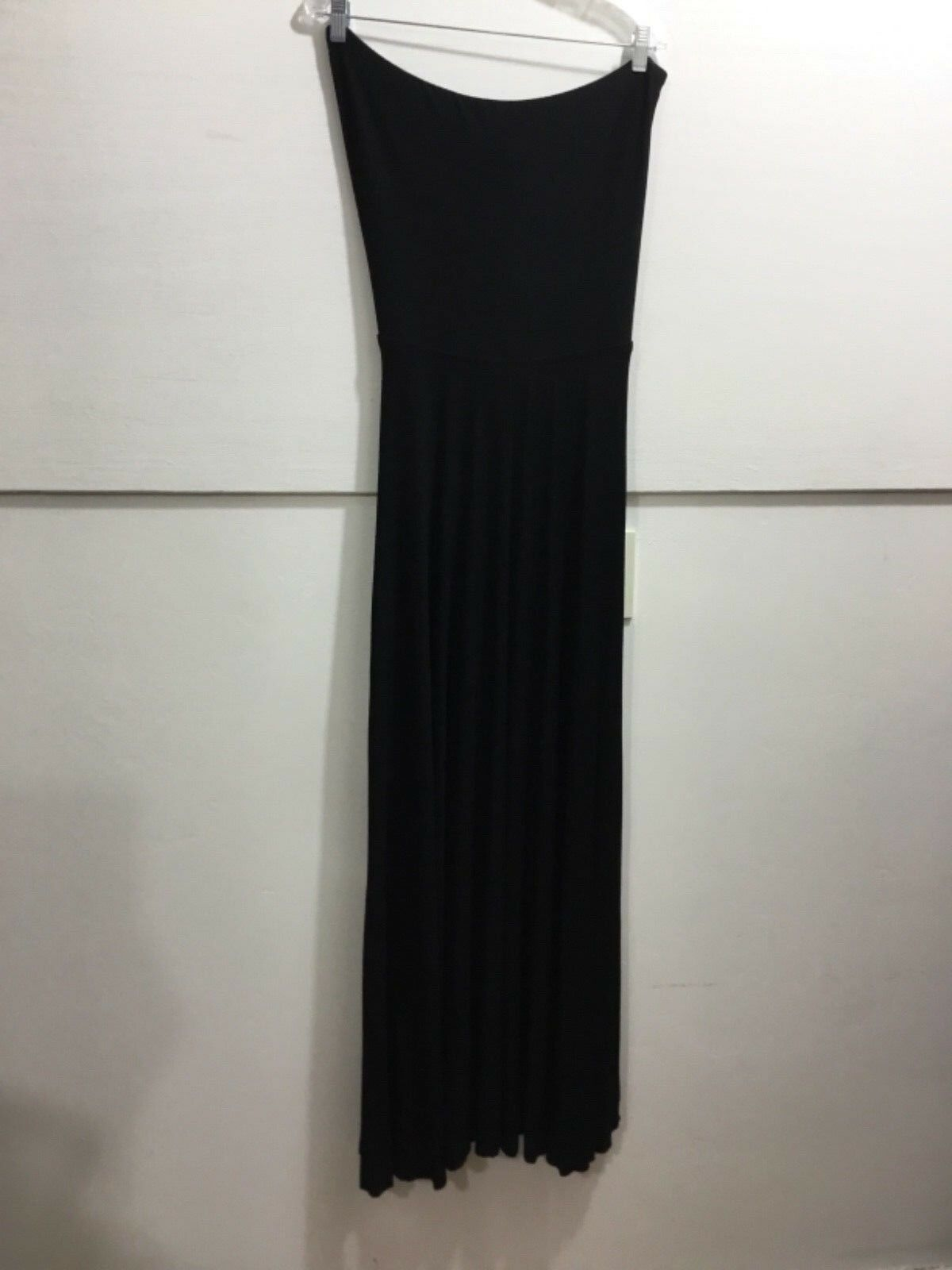 Bebe ladies large schwarz strapless open tie back adorable comfortable flattering