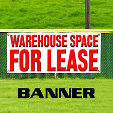 Warehouse Space For Lease Commercial Novelty Indoor Outdoor Vinyl Banner Sign