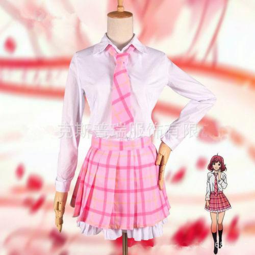 Noragami Ebisu Kofuku School Uniform Dress Outfit Anime Cosplay Cos