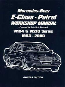 mercedes e320 shop manual service repair book 1993 2000 1994 1995 rh ebay com 1997 Mercedes-Benz E-Class Mercedes-Benz W124