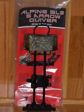 Alpine Archery Sl2 Bow Quiver 5 Arrow Realtree Xtra Camo