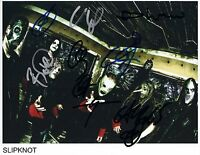 Slipknot SIGNED Photo 1st Generation PRINT Ltd, No'd + Certificate /2