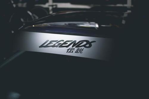 Legends Windshield Banner Universal decal vinyl sticker
