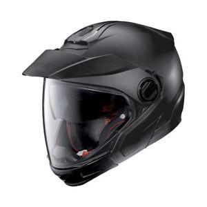 Nolan-N40-5-GT-Crossover-Motorcycle-Helmet-Matt-Black