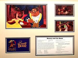 DISNEY COLLECTORS SERIES BEAUTY AND THE BEAST LTD. ED. OF 1500 LITHOGRAPH