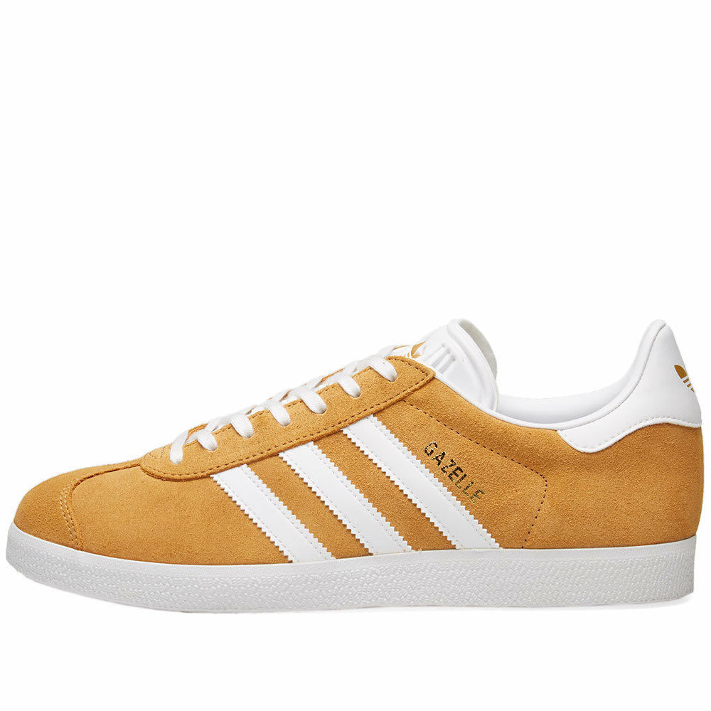 Authentic Brand New Adidas Original Gazelle ® (Mens 8-11) Wheat braun Weiß 2018