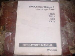 Woods 72 Rotary Mower Parts