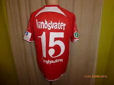 Wacker Castello vivere Hummel Trasferta Maglia Matchworn 12/13 + N. 15 figlio padre Taglia M
