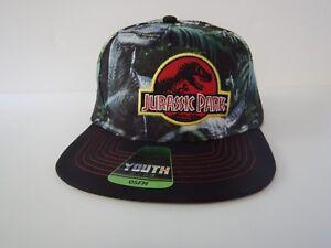 Jurassic Park World Raptor Dinosaur T-REX Kids Boys Girls Youth Hat ... 757add2ce1e5