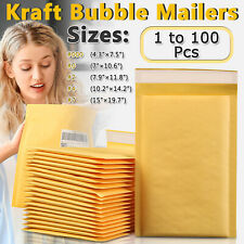 Kraft Bubble Mailers Padded Envelopes Shipping Mailing Bags Self Seal Any Size