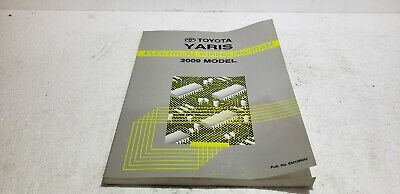 2009 Toyota Yaris OEM Electronic Wiring Diagram Manual EWD ...