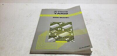 2009 Toyota Yaris OEM Electronic Wiring Diagram Manual EWD ...