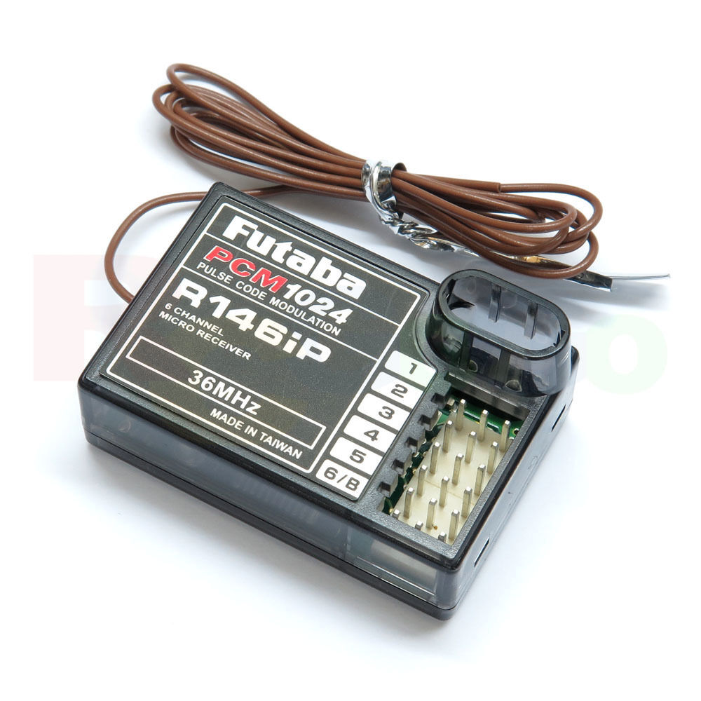 Futaba R146iP 36MHz 6-channel  PCM Receiver w o Crystal  grandi offerte