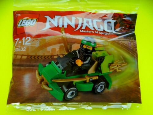 Lego 30532 Ninjago polybag LLOYD'S Turbo Racer kart voiture de course NOUVEAU neuf dans sa boîte