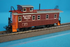 Marklin-4563-US-Caboose-Southern-Pacific-Brown-Orange-OVP