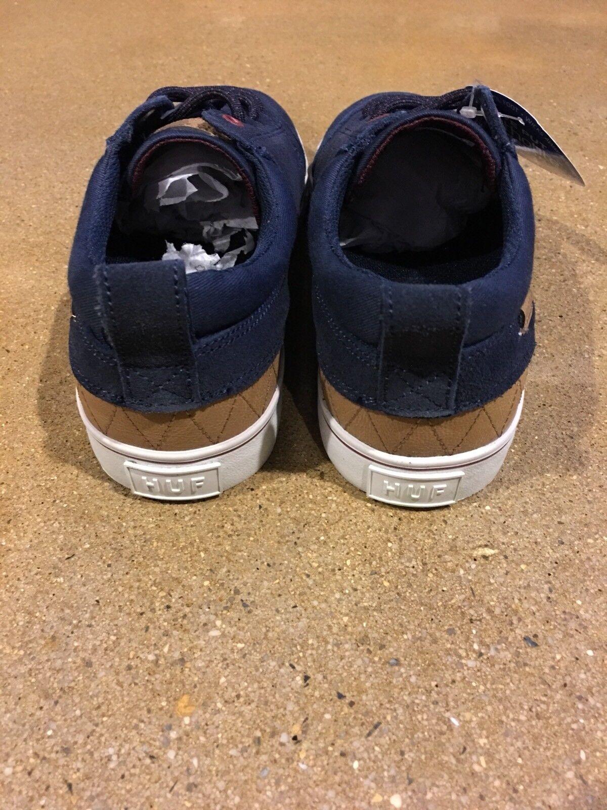 Huf Navy Ramondetta Größe 6 US Navy Huf Wine Peter Ramondetta Styling Skate Schuhes Sneakers 2b1bc2
