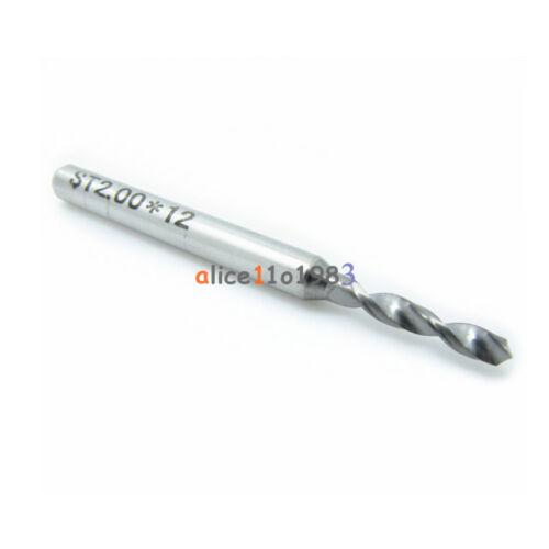 1.2mm Micro Mini Carbide Steel Engraving Drill Bit PCB Press CNC Dremel