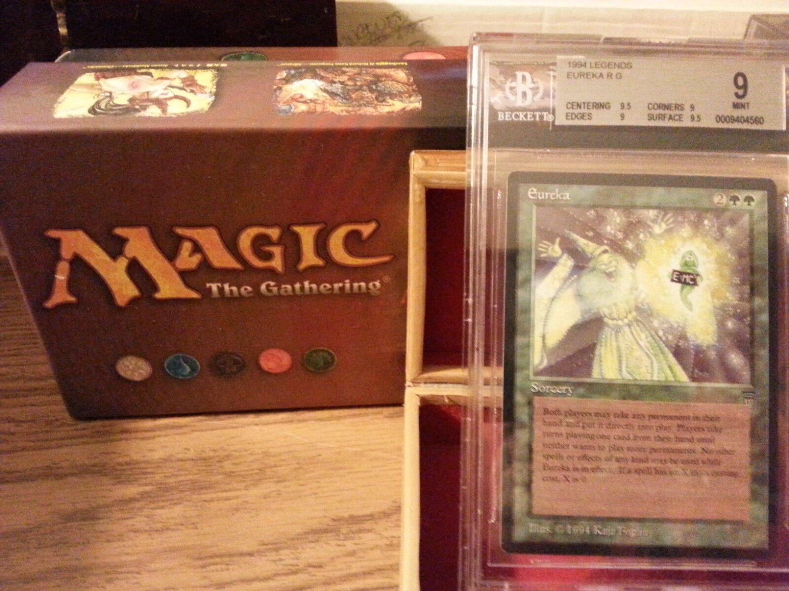 Legends Eureka BGS 9 Mint Magic The Gathering MTG 1993 Bam  Wow