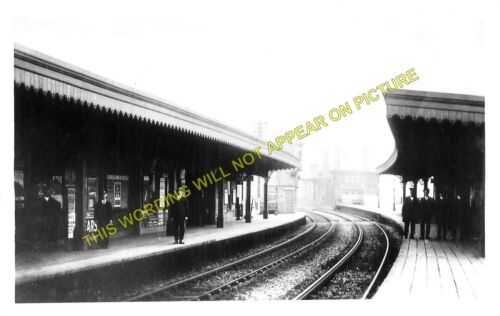 Rochester Bridge Railway Station Photo Chatham to Strood and Fawkham Lines. 1