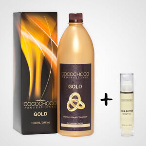 Cocochoco Gold Brazilian Keratin Hair Treatment 1000 Ml 33 8oz Gift Hair Oil 714270278143 Ebay