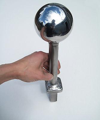 "Hardy 3.5/"" Chrome Steel Ball Anvil Tool Blacksmith Tinsmith Coppersmith Forging"