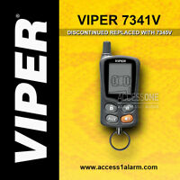 Viper 7341v 2-way Lcd Remote Control Replacement Transmitter 7345v