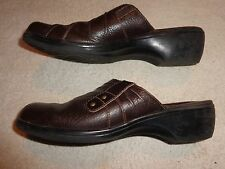 Clarks BROWN SHOES WOMENS SIZE 7 1/2 M