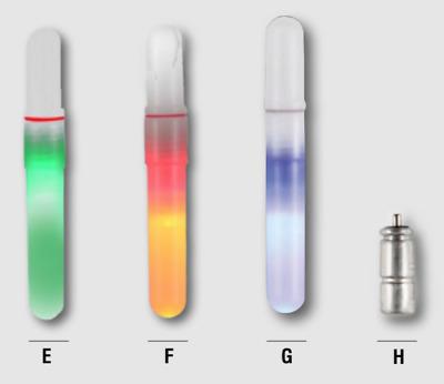 Paladin LED Knicklicht mit Batterie Blau