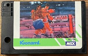 Konami RC736 Konami's Boxing MSX Game